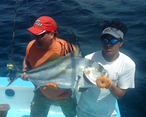 Roosterfishing Charters out of Flamingo Beach, Costa Rica