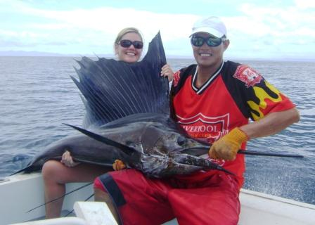 Guanacaste Costa Rica Inshore Fishing Charter, Flamingo Beach