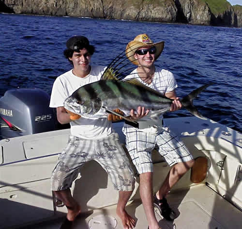 Roosterfishing in Papagayo Gulf, Costa Rica